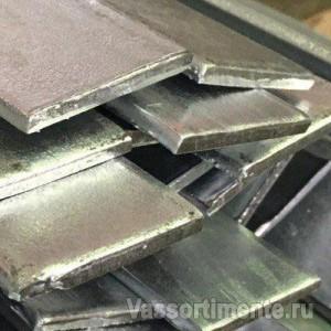 Полоса горячеоцинкованная 5х40 мм ст3 6 м ГОСТ 9.307-89